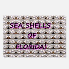 Sea Shells of Florida Postcards (Package of 8)