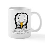 RichEagleCamTshirt2012colorBlkLtr Mugs