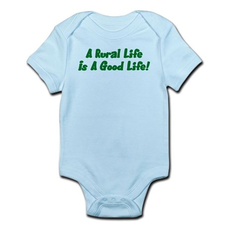 Rural Life Infant Bodysuit