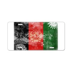 Afghanistan Flag Aluminum License Plate