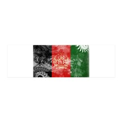Afghanistan Flag 21x7 Wall Peel