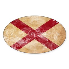 Alabama Flag Decal