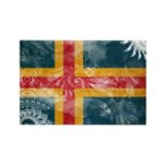 Aland Flag Rectangle Magnet