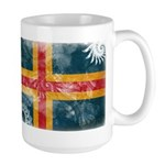 Aland Flag Large Mug