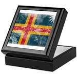Aland Flag Keepsake Box