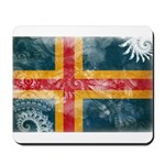 Aland Flag Mousepad