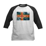 Aland Flag Kids Baseball Jersey