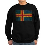 Aland Flag Sweatshirt (dark)