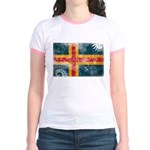 Aland Flag Jr. Ringer T-Shirt