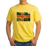 Aland Flag Yellow T-Shirt