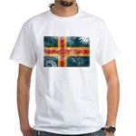 Aland Flag White T-Shirt