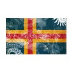 Aland Flag 38.5 x 24.5 Wall Peel
