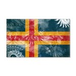 Aland Flag 22x14 Wall Peel