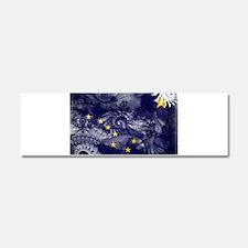 Alaska Flag Car Magnet 10 x 3
