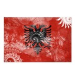 Albania Flag Postcards (Package of 8)