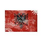 Albania Flag Rectangle Magnet (100 pack)