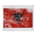 Albania Flag Throw Blanket