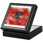 Albania Flag Keepsake Box