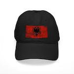 Albania Flag Black Cap