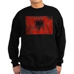 Albania Flag Sweatshirt (dark)