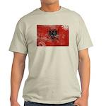 Albania Flag Light T-Shirt
