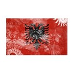 Albania Flag 38.5 x 24.5 Wall Peel