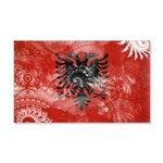 Albania Flag 22x14 Wall Peel