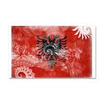Albania Flag Car Magnet 20 x 12