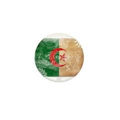 Algeria Flag Mini Button