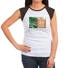 Algeria Flag Women's Cap Sleeve T-Shirt