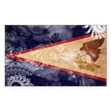 American Samoa Flag Decal