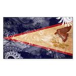American Samoa Flag Sticker (Rectangle)