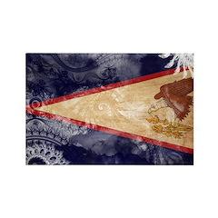 American Samoa Flag Rectangle Magnet (100 pack)