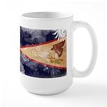 American Samoa Flag Large Mug