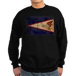 American Samoa Flag Sweatshirt (dark)