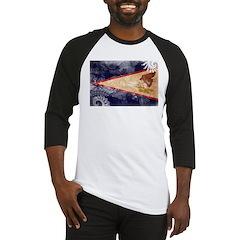 American Samoa Flag Baseball Jersey