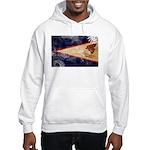 American Samoa Flag Hooded Sweatshirt