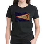 American Samoa Flag Women's Dark T-Shirt