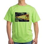 American Samoa Flag Green T-Shirt