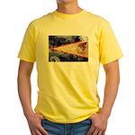American Samoa Flag Yellow T-Shirt