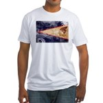 American Samoa Flag Fitted T-Shirt