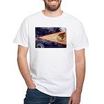 American Samoa Flag White T-Shirt