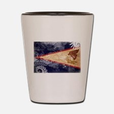 American Samoa Flag Shot Glass