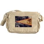 American Samoa Flag Messenger Bag