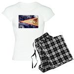 American Samoa Flag Women's Light Pajamas