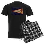 American Samoa Flag Men's Dark Pajamas