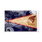 American Samoa Flag Car Magnet 20 x 12