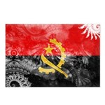 Angola Flag Postcards (Package of 8)