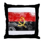 Angola Flag Throw Pillow
