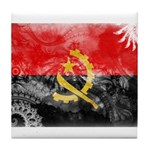 Angola Flag Tile Coaster